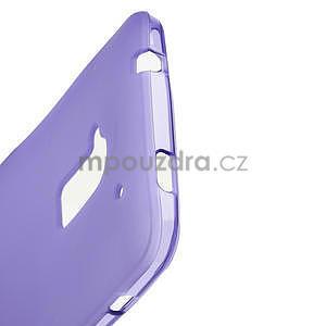 Gelové matné pouzdro pro HTC one Max- fialové - 4