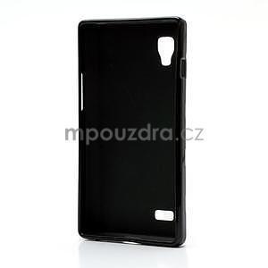 Gelové PUNTÍK pouzdro pro LG Optimus L9 P760- černé - 4