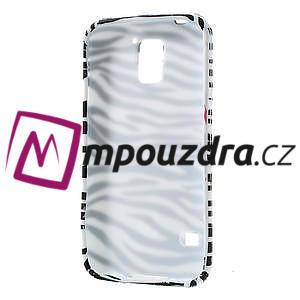 Gelové pouzdro na Samsung Galaxy S5- zebrovité - 4
