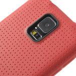 Gelové pouzdro na Samsung Galaxy S5- červené - 4/5