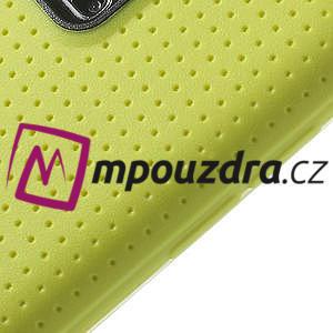 Gelové pouzdro na Samsung Galaxy S5- žluté - 4