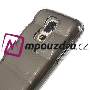 Gelové vesta pouzdro na Samsung Galaxy S5- šedé - 4