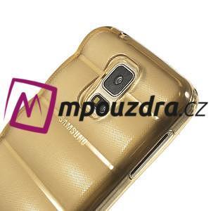 Gelové vesta pouzdro na Samsung Galaxy S5- zlaté - 4