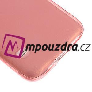 Gelové ultraslim pouzdro na Samsung Galaxy S5- červené - 4