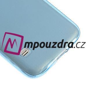 Gelové ultraslim pouzdro na Samsung Galaxy S5- modré - 4