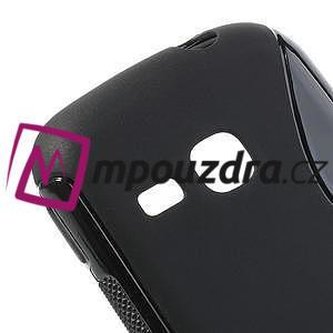 Gelové S-line pouzdro na Samsung Galaxy Young S6310- černé - 4