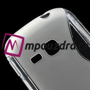 Gelové S-line pouzdro na Samsung Galaxy Young S6310- transparentní - 4