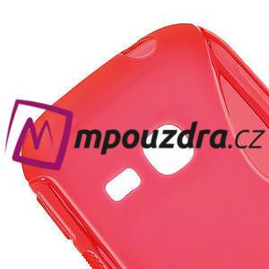 Gelové S-line pouzdro na Samsung Galaxy Young S6310- červené - 4