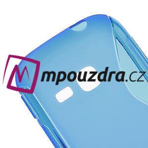 Gelové S-line pouzdro na Samsung Galaxy Young S6310- modré - 4