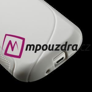 Gelové S-line pouzdro pro Samsung Trend plus, S duos- bílé - 4