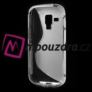 Gelové S-line pouzdro pro Samsung Trend plus, S duos- transparentní - 4