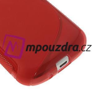 Gelové S-line pouzdro pro Samsung Trend plus, S duos- červené - 4