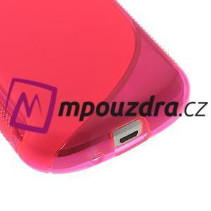 Gelové S-line pouzdro pro Samsung Trend plus, S duos- růžové - 4