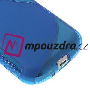 Gelové S-line pouzdro pro Samsung Trend plus, S duos- modré - 4