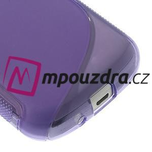 Gelové S-line pouzdro pro Samsung Trend plus, S duos- fialové - 4