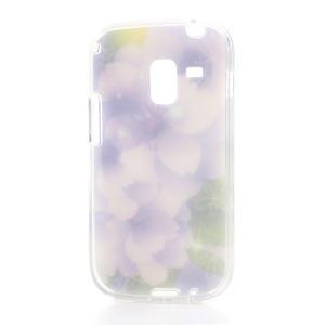 Gelové pouzdro na Samsung Galaxy Trend, Duos- elegantní květ - 4