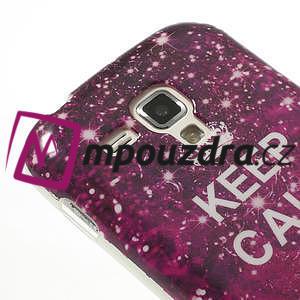 Gelové pouzdro na Samsung Trend plus, S duos - třpytivé - 4