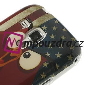 Gelové pouzdro na Samsung Trend plus, S duos - american - 4