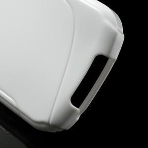 Gelové S-line pouzdro na Samsung Galaxy Xcover 2 S7710- bílé - 4