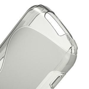 Gelové S-line pouzdro na Samsung Galaxy Xcover 2 S7710- šedé - 4