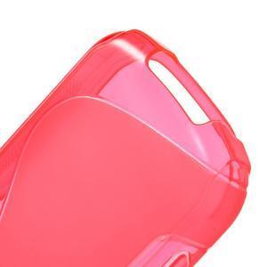 Gelové S-line pouzdro na Samsung Galaxy Xcover 2 S7710- růžové - 4