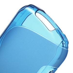 Gelové S-line pouzdro na Samsung Galaxy Xcover 2 S7710- modré - 4
