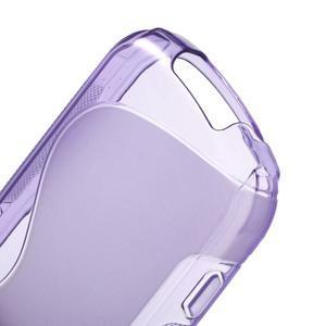 Gelové S-line pouzdro na Samsung Galaxy Xcover 2 S7710- fialové - 4