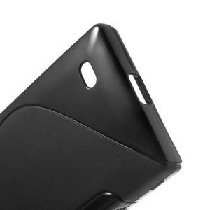 Gelové S-line pouzdro na Nokia X dual- černé - 4