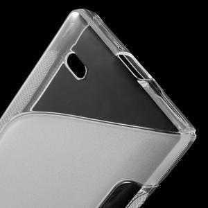 Gelové S-line pouzdro na Nokia X dual- transparentní - 4