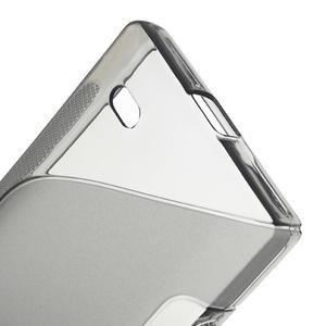 Gelové S-line pouzdro na Nokia X dual- šedé - 4