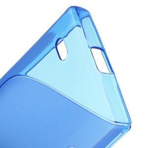Gelové S-line pouzdro na Nokia X dual- modré - 4