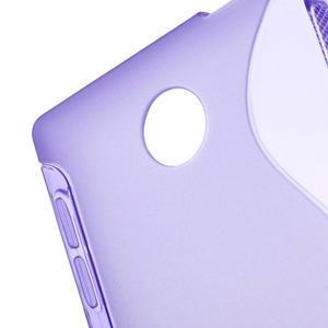 Gelové S-line pouzdro na Nokia X dual- fialové - 4