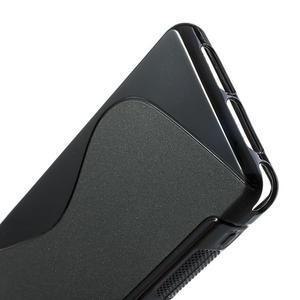 Gelové S-line pouzdro na Sony Xperia Z1 Compact D5503- černé - 4