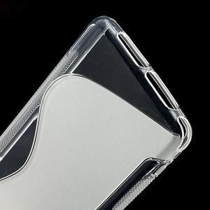 Gelové S-line pouzdro na Sony Xperia Z1 Compact D5503- transparentní - 4