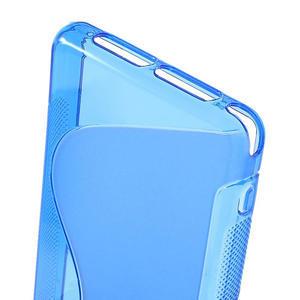 Gelové S-line pouzdro na Sony Xperia Z1 Compact D5503- modré - 4