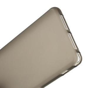 Gelové matné  pouzdro na Sony Xperia Z1 Compact D5503- šedé - 4