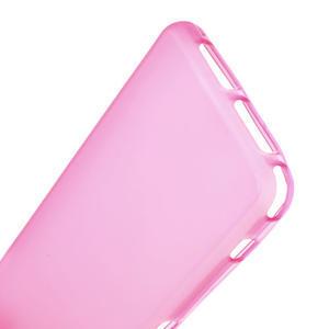 Gelové matné pouzdro na Sony Xperia Z1 Compact D5503- růžové - 4