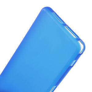 Gelové matné  pouzdro na Sony Xperia Z1 Compact D5503- modré - 4