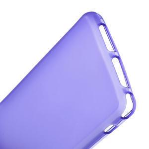 Gelové matné pouzdro na Sony Xperia Z1 Compact D5503- fialové - 4