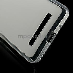 Gelové matné pouzdro na Asus Zenfone 5 - transparentní - 4