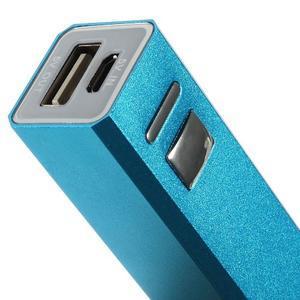 GTX kovová externí nabíječka 2 600 mAh - modrá - 4