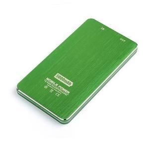 Slim GX externí nabíječka PoweBank 5 000 mAh - zelená - 4