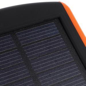 CEX solární externí nabíječka 6 000 mAh - oranžová - 4