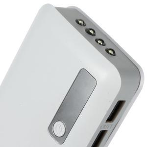 Vysokokapacitní externí nabíječka PowerBank GT 11 800 mAh - bílá - 4