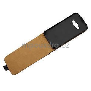 Flipové pouzdro na Samsung Galaxy Xcover 3 - černé - 4