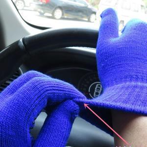 GX protiskluzové rukavice - modré - 4