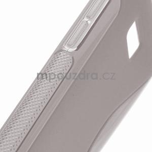 Gelové S-line pouzdro pro HTC Desire 600- šedé - 4