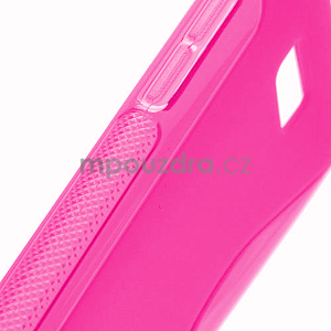 Gelové S-line pouzdro pro HTC Desire 600- růžové - 4
