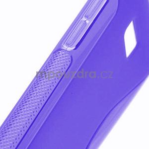 Gelové S-line pouzdro pro HTC Desire 600- fialové - 4