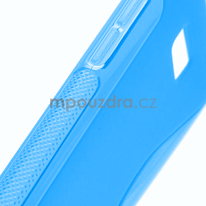 Gelové S-line pouzdro pro HTC Desire 600- modré - 4